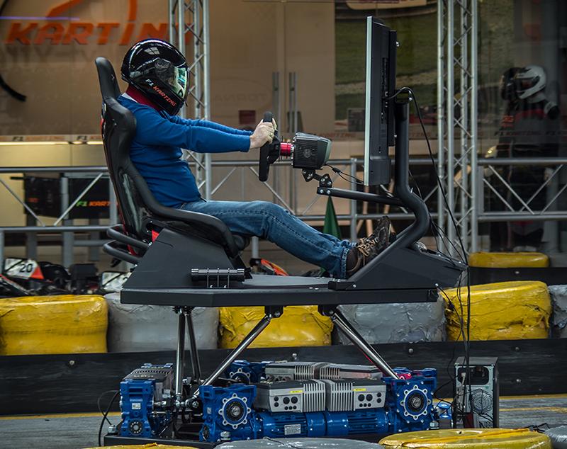 symulator hexapod wynajem 5D i 9D w VR