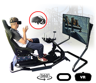 simulator motion roller coaster