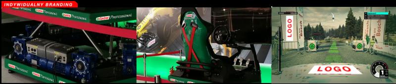 ZAAWANSOWANY SYMULATOR RAJDOWY HEXAPOD F1/WRC