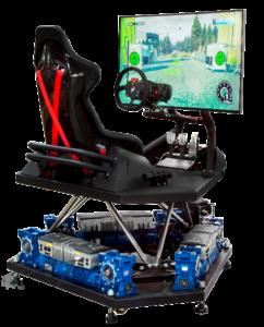 symulator rajdowy jazdy
