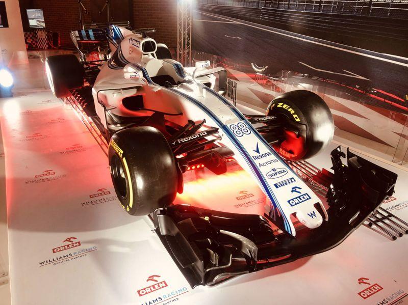 PKN ORLEN – event F1 z prezentacją bolidu Williams Rokit